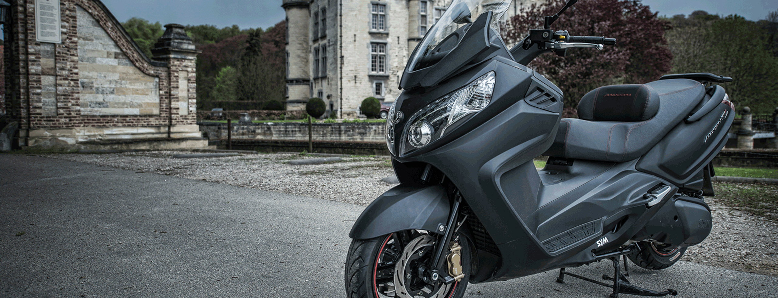 Hackmann2wielers - SYM scooter